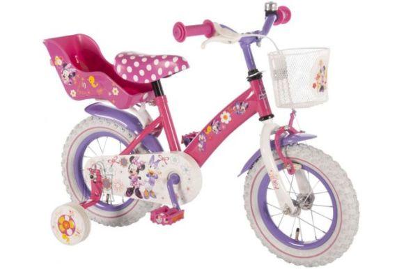 """Disney tüdrukute jalgratas Minnie Bow-Tique 12"""" roosa"""