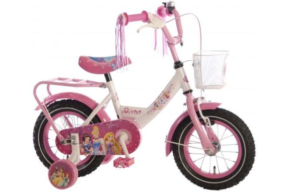 "Disney Princess tüdrukute jalgratas Princess 12"""