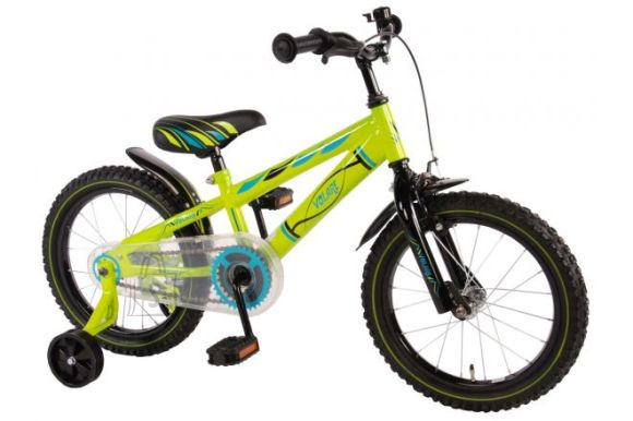 "Volare poiste jalgratas Electric Green 16"""
