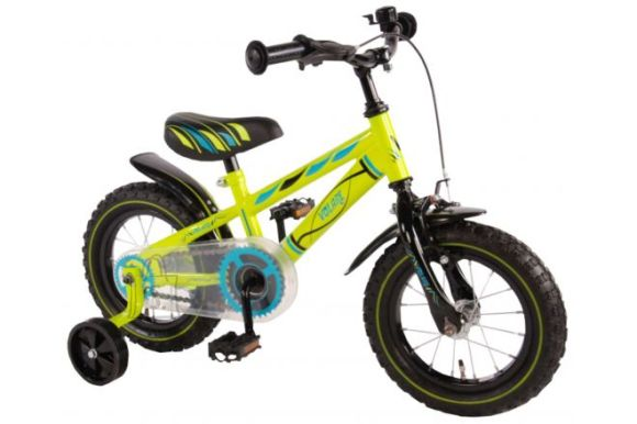 """Yipeeh poiste jalgratas Electric Green 12"""""""