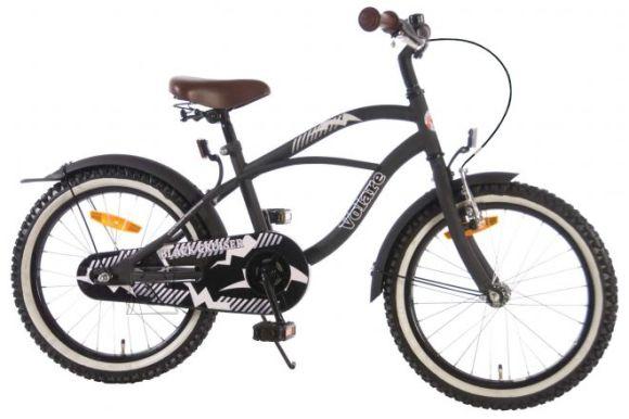 "Volare poiste jalgratas Black Cruiser 18"" must"