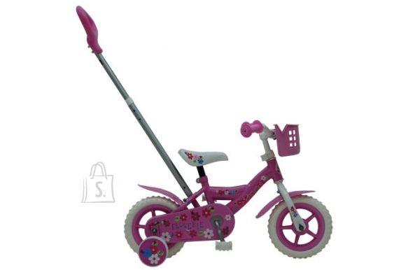 """Yipeeh lükatav tüdrukute jalgratas Flowerie 10"""""""