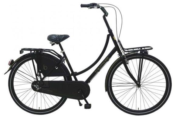 """Little Diva 3-käiguline tüdrukute jalgratas Dutch 28"""" must"""