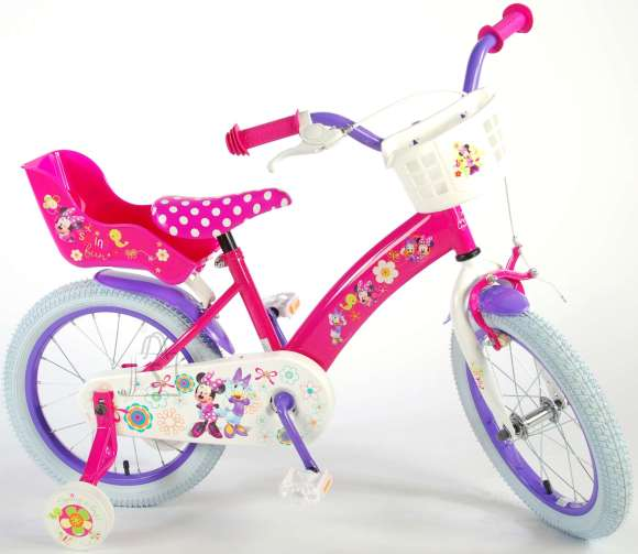 "Disney Minnie tüdrukute jalgratas Bow-Tique 16"""