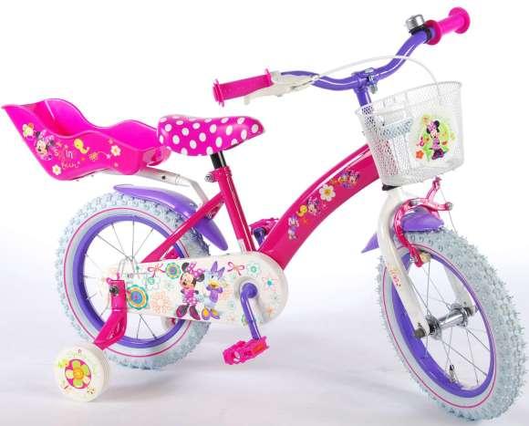 "Tüdrukute jalgratas Disney Minnie Bow-Tique 14"""