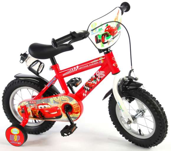 "Disney Cars 12"" poiste jalgratas"