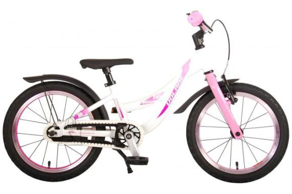 Volare Volare Glamour Children's Bicycle - Girls - 16 inch - Pearl Pink - Prime Collection
