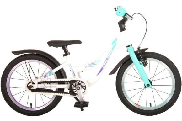 Volare Volare Glamour Children's Bicycle - Girls - 16 inch - Pearl Mint Green - Prime Collection