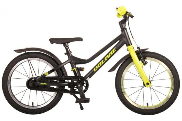 Volare Volare Blaster Children Bicycle - Boys - 16 inch  - Black Green - Prime Collection