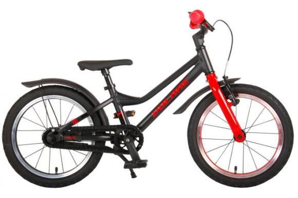 Volare Volare Blaster Children Bicycle - Boys - 16 inch  - Black Red - Prime Collection