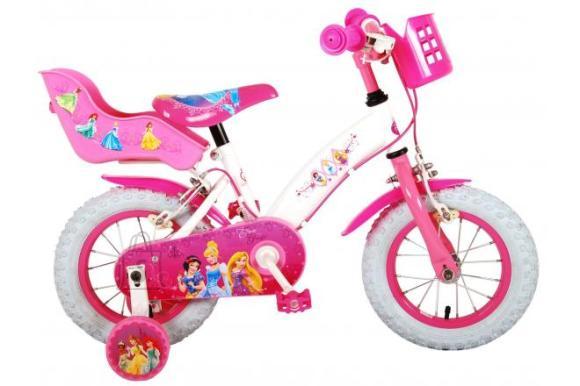Disney Princess Disney Princess Children's Bicycle - Girls - 12 inch - Pink - Two hand brakes