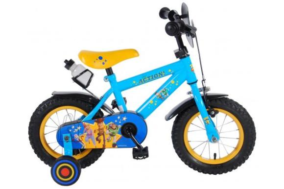 Disney Toy Story Children's Bicycle - Boys - 12 inch - Blue/Yellow