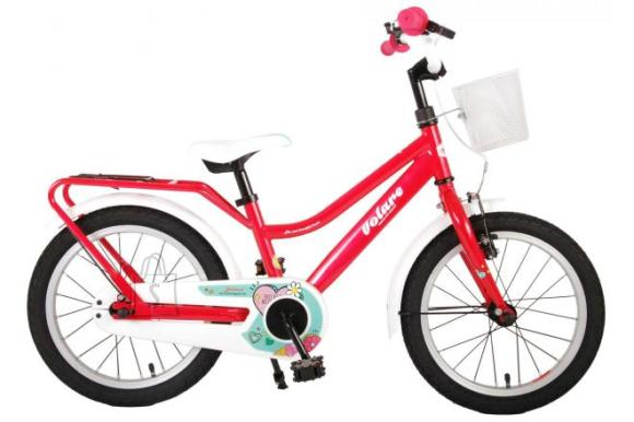 Volare Volare Brilliant Children's Bicycle - Girls - 16 inch - Pink - 95% assembled