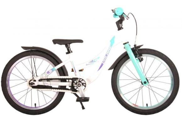 Volare Volare Glamour Children's Bicycle - Girls - 18 inch - Pearl Mint Green - Prime Collection