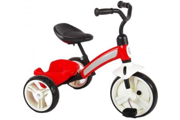 QPlay Elite Tricycle - Boys and Girls - Red