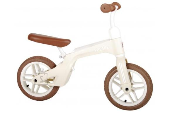 Volare Volare Balance Bike - Boys and Girls - 10 inch - Cream