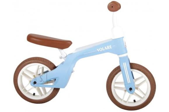 Volare Volare Balance Bike - Boys and Girls - 10 inch - Blue