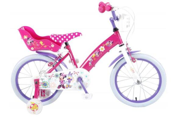 Disney Minnie Disney Minnie Bow-Tique Children's Bicycle - Girls - 16 inch - Pink - 2 hand brakes