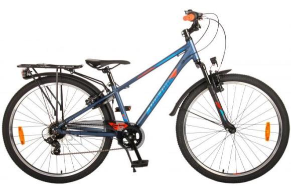 Volare Volare Cross Children's Bicycle - Boys - 26 inch - Dark Blue - 7 gears - Prime Collection
