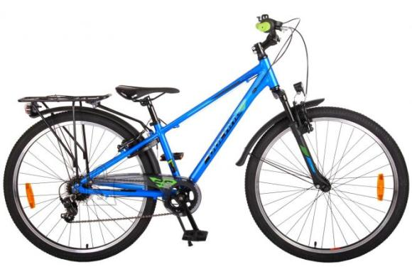 Volare Volare Cross Children's Bicycle - Boys - 26 inch - Blue - 7 gears - Prime Collection