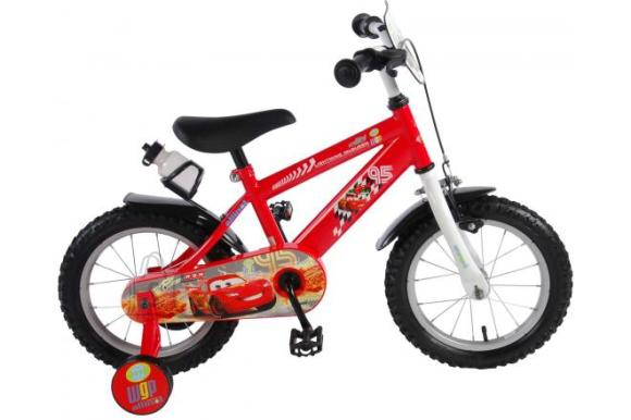 Disney Cars Disney Cars Children's Bicycle - Boys - 14 inch - Red