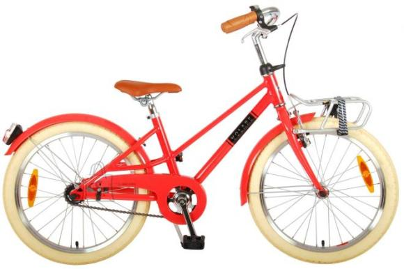 Volare Volare Melody Children's bicycle - Girls - 20 inch - pastel red - Prime Collection