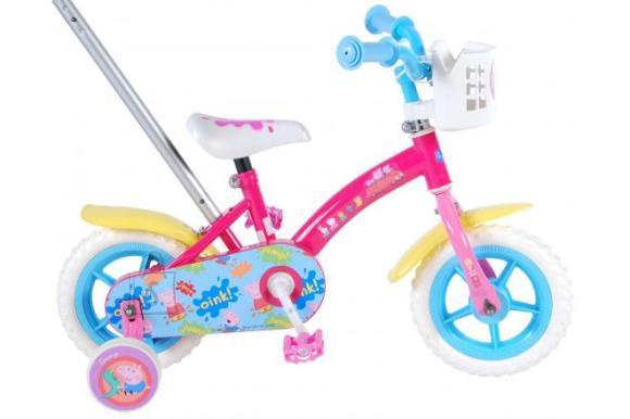 Peppa Pig Peppa Pig Children's Bicycle - Girls - 10 inch - Pink / Blue