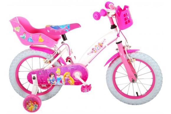 Disney Princess Disney Princess Children's Bicycle - Girls - 14 inch - Pink - two hand brakes
