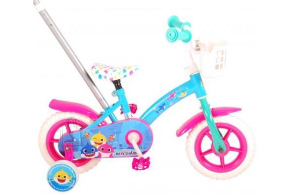 Baby Shark Children's bicycle - Unisex - 10 inch - Pink Blue