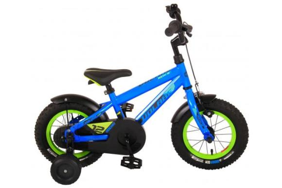 Volare Volare Rocky Children's Bicycle - Boys - 12 inch - Blue - 95% assembled - Prime Collection