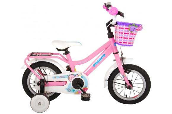 Volare Volare Brilliant Children's Bicycle - Girls - 12 inch - Pink - 95% assembled