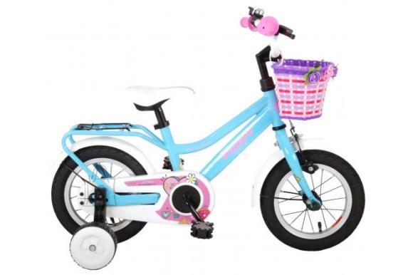 Volare Volare Brilliant Children's Bicycle - Girls - 12 inch - Blue - 95% assembled