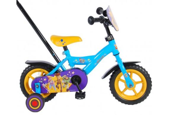 Disney Toy Story 4 Children's Bicycle - Boys - 10 inch - Blue / Yellow