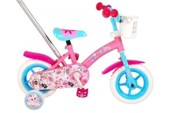 OJO Children's Bicycle - Girls - 10 inch - Pink / Blue