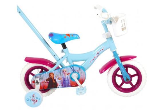 Disney Frozen 2 Children's Bicycle - Girls - 10 inch - Blue / Purple