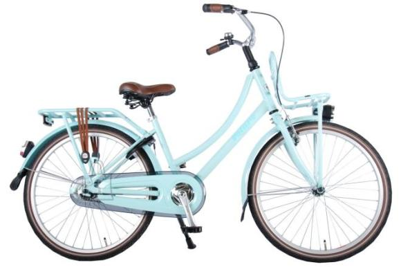 Volare Volare Excellent Children's Bicycle - Girls - 24 inch - Mint Blue - 95% assembled