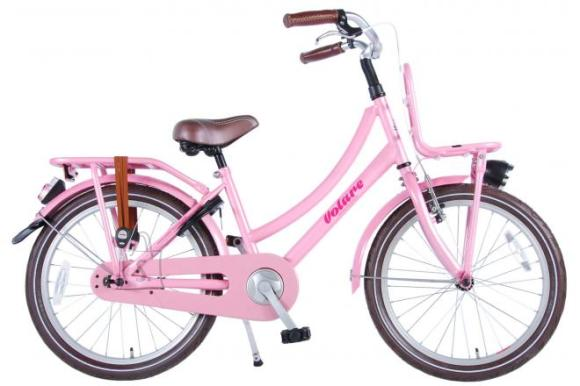 Volare Volare Excellent Children's Bicycle - Girls - 20 inch - Pink - 95% assembled