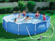Bestway terasraamiga bassein koos filterpumbaga Ø366 cm