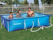 Bestway terasraamiga bassein koos filterpumbaga 300x201 cm