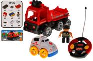 Raadioteel juhitav veoauto kiirabiautoga