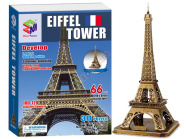 3D pusle Eiffeli torn, 66 osa