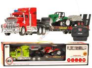 Mudelsõiduk treiler traktoriga