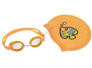 Bestway ujumismüts ja prillid koos kotiga