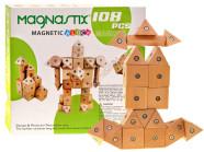 Puidust magnetitega mängukomplekt lastele, 21 osa