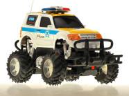 Raadioteel juhitav politsei Monster Truck