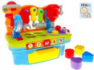 Tööriistadega töölaud - sorteerija väikelastele