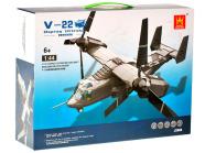 Ehitusklotside komplekt Lennuk V-22, 598 osa
