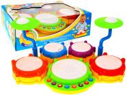 Mängu trummikomplekt lastele