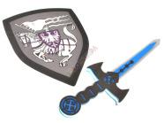 Rüütli mõõga ja kilbi komplekt