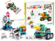 Ehitusklotside komplekt Robot 4in1